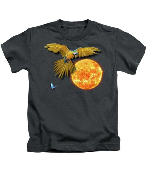Macaw Sun Kids T-Shirt