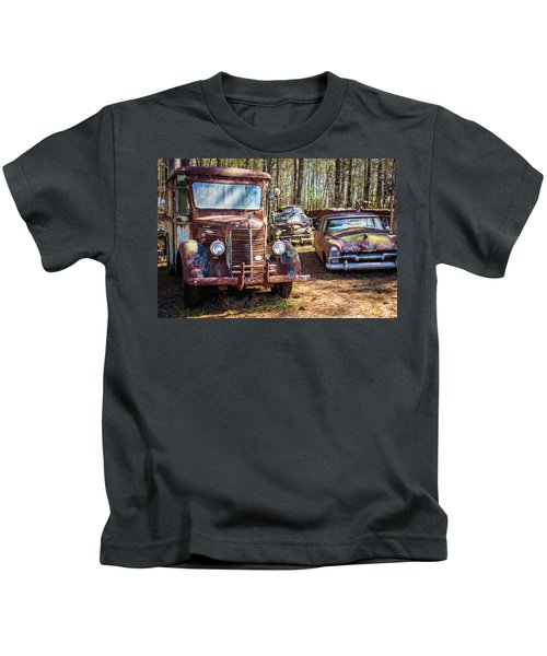 Mack Truck And Plymouth Kids T-Shirt