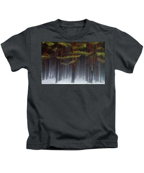 Magical Pines Kids T-Shirt
