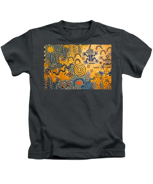 Maidu Creation Story Kids T-Shirt