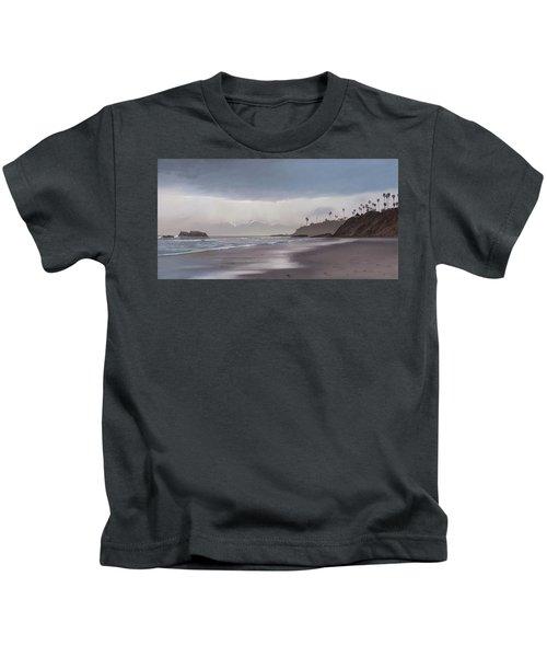 Main Beach Reflections Kids T-Shirt
