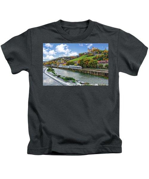 Main River Panorama Kids T-Shirt