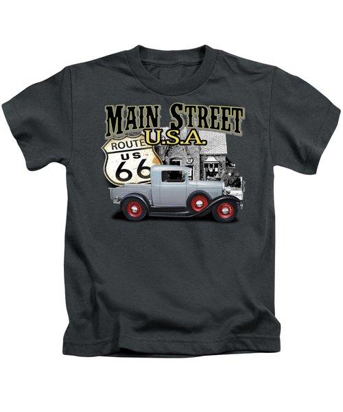 Main Street Rod Kids T-Shirt