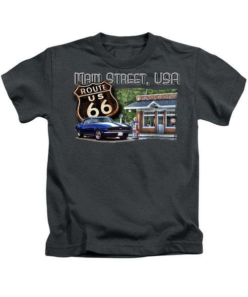 Main Street, Usa Camaro Kids T-Shirt
