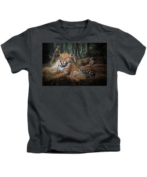 Majestic Leopard Kids T-Shirt