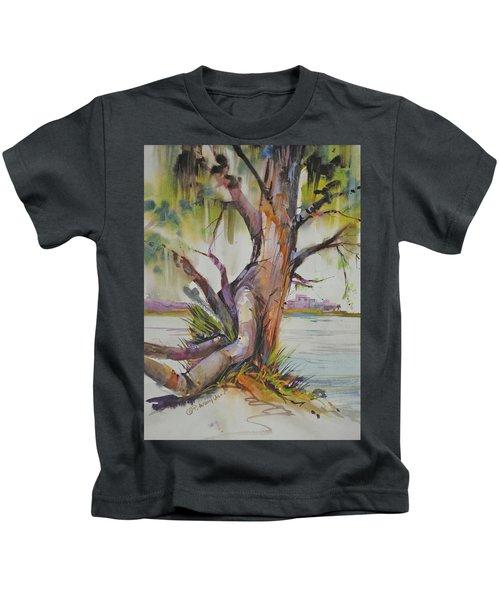 Majestic Live Oak  Kids T-Shirt