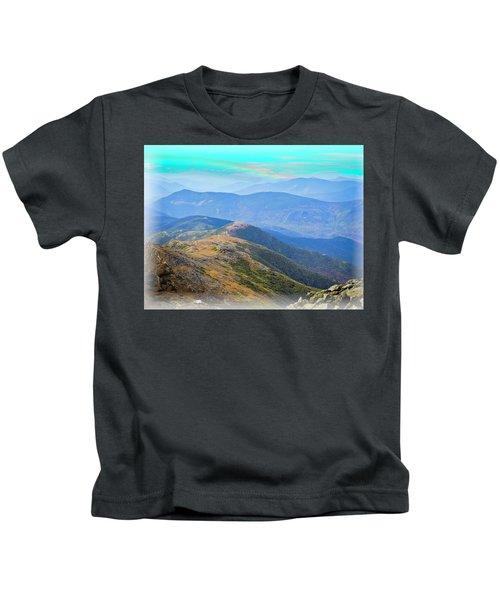 Majestic White Mountains Kids T-Shirt