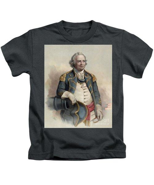 Major General Israel Putnam Kids T-Shirt