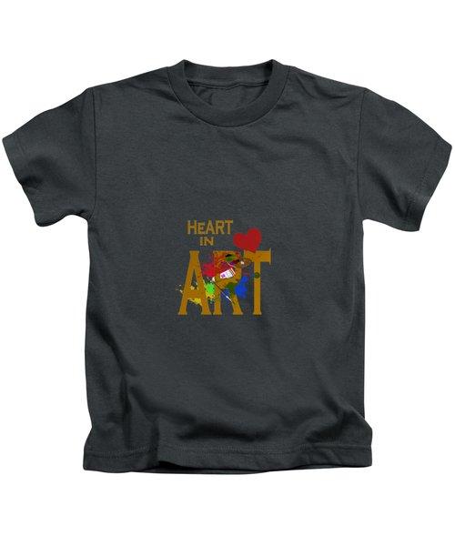 Malachite By V.kelly Kids T-Shirt