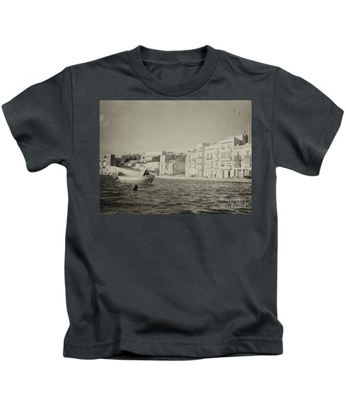 Maltese Boat Kids T-Shirt
