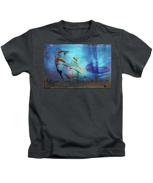 Man Is Art Kids T-Shirt