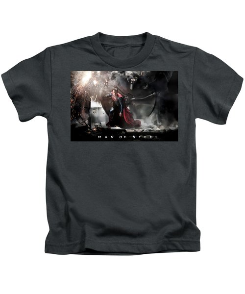 Man Of Steel Kids T-Shirt