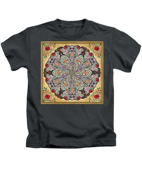 Mandala Elephants Kids T-Shirt