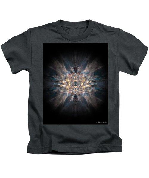 Mandala - Patterns Emerging Series No. 4 Kids T-Shirt