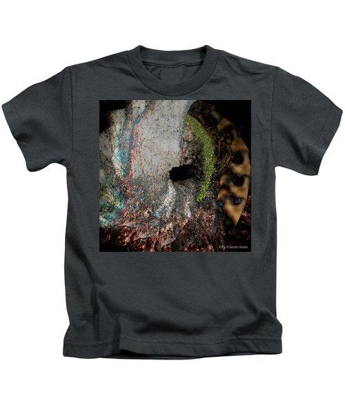 Brass And Bone - Desert Reconstruction  Kids T-Shirt