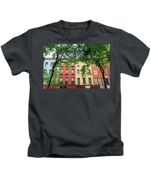 Manhattan Apartments Kids T-Shirt