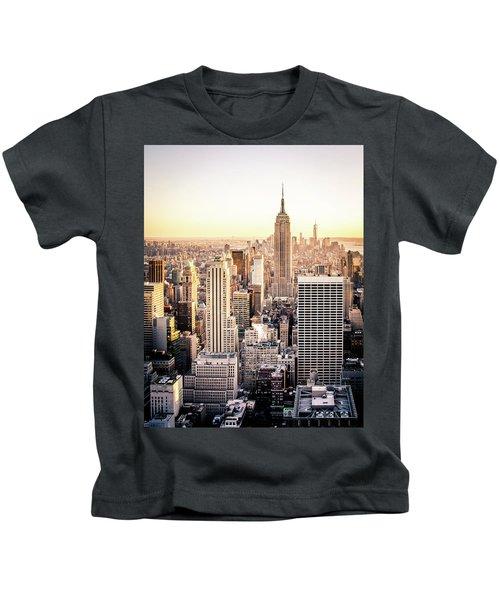Manhattan Kids T-Shirt by Michael Weber