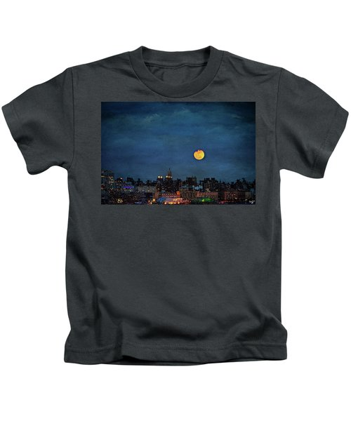 Manhattan Moonrise Kids T-Shirt