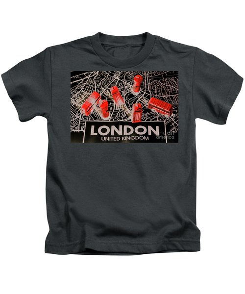 Maps From London Town Kids T-Shirt