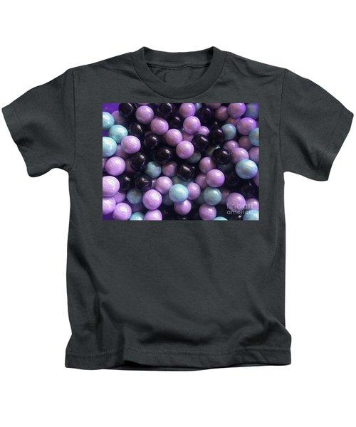 Marble Candy Art Kids T-Shirt