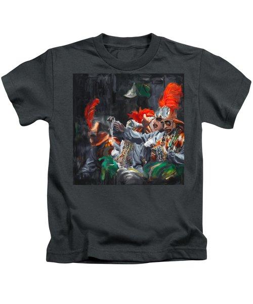 Mardi Gras 242 4 Kids T-Shirt