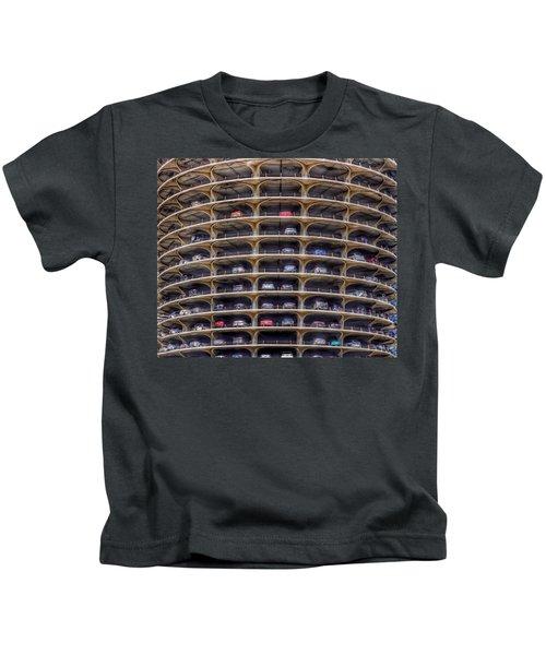 Marina City Chicago Kids T-Shirt
