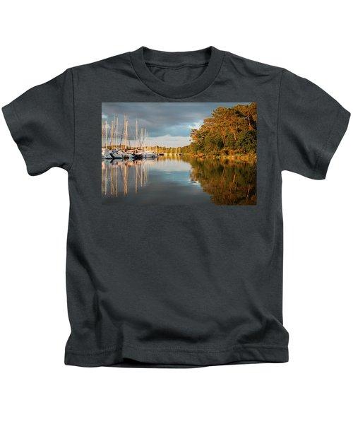 Marina Sunset 10 Kids T-Shirt