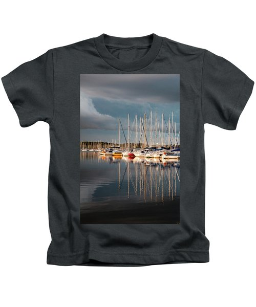 Marina Sunset 9 Kids T-Shirt