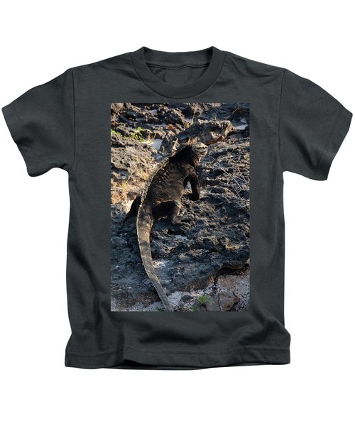 Marine Iguana, Amblyrhynchus Cristatus Kids T-Shirt