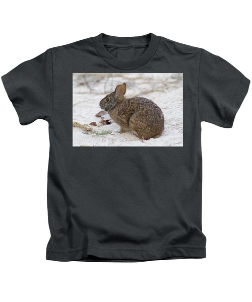 Marsh Rabbit On Dune Kids T-Shirt