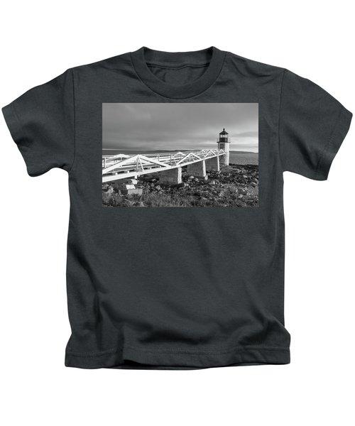 Marshall Point Lighthouse Kids T-Shirt