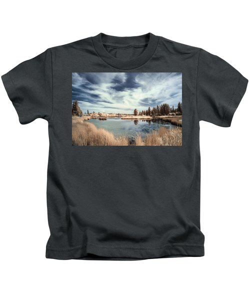 Marshlands In Washington Kids T-Shirt