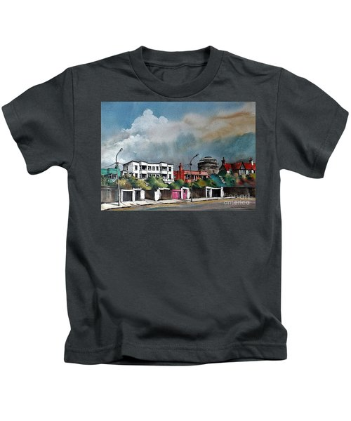 F  732 Martello Tower Bray Seafront Wicklow.. Kids T-Shirt