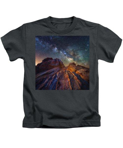 Martian Landscape Kids T-Shirt