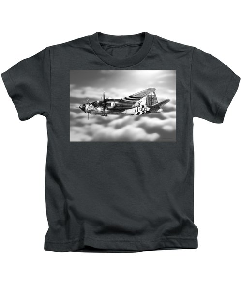 Martin B-26 Marauder Drawing Kids T-Shirt