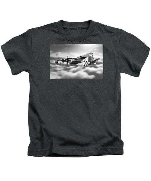 Martin B-26 Marauder Drawing Kids T-Shirt