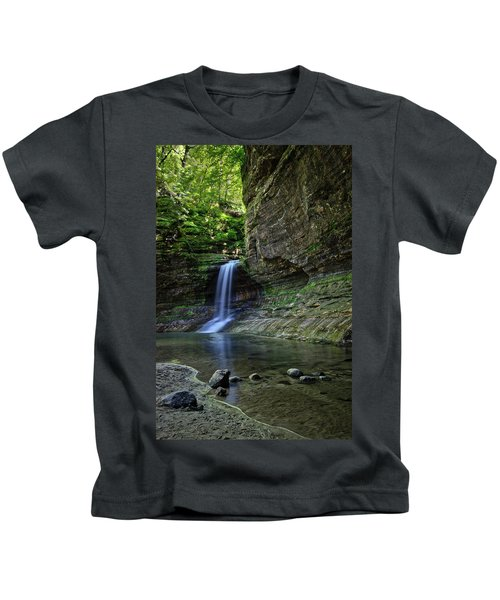 Matthiessen Park Waterfall Kids T-Shirt