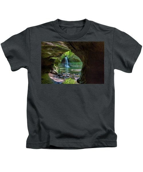 Matthiessen Waterfall Kids T-Shirt