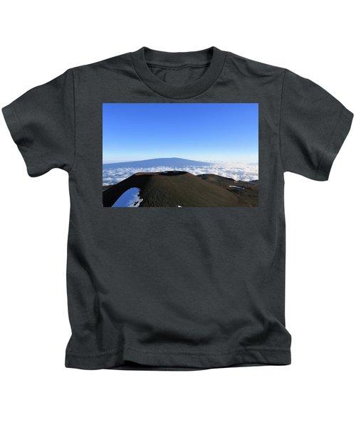 Mauna Loa In The Distance Kids T-Shirt