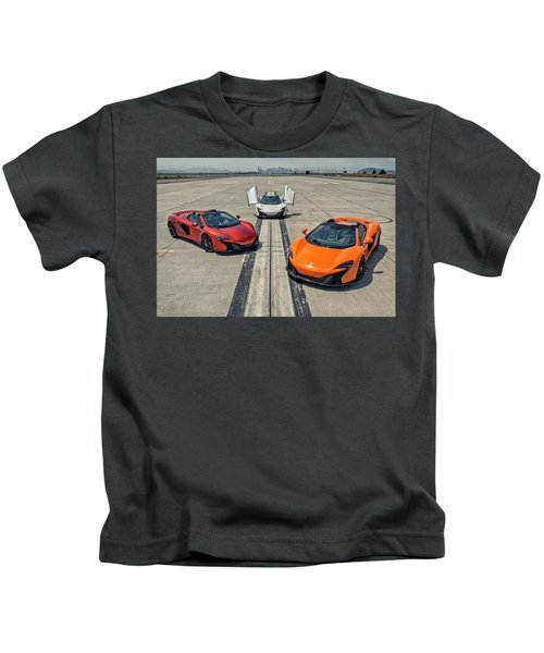 #mclaren #650s #party Kids T-Shirt