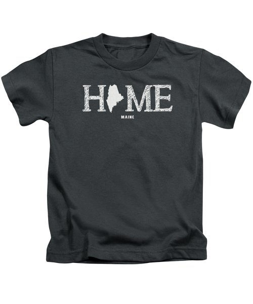 Me Home Kids T-Shirt by Nancy Ingersoll