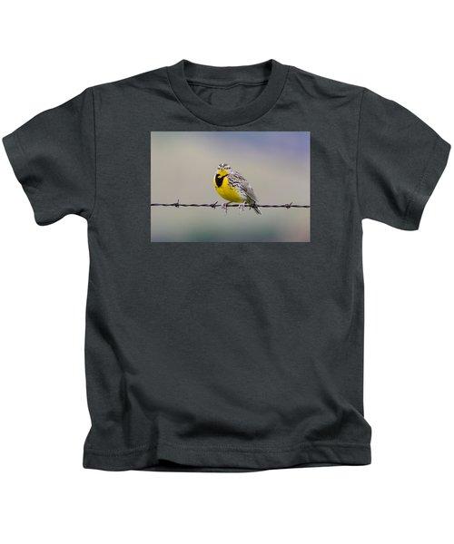 Meadowlark Stare Kids T-Shirt