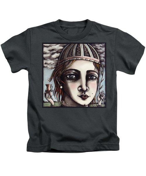Medieval Herbalist Kids T-Shirt