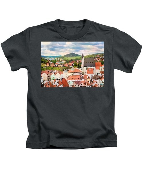 Medieval Village  Kids T-Shirt