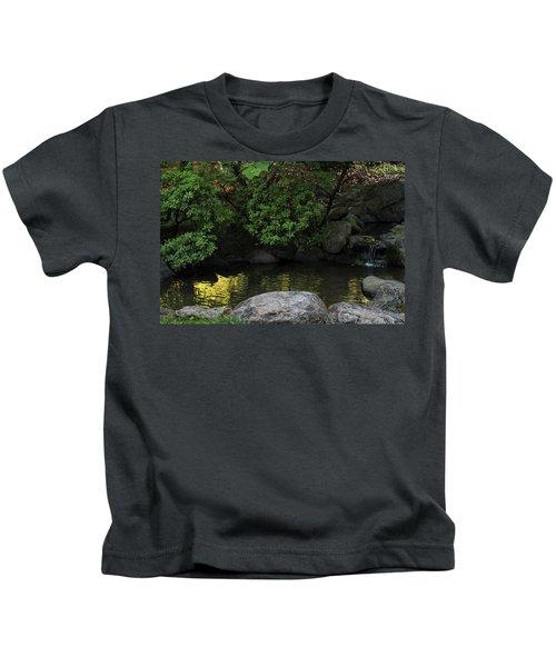 Meditation Pond Kids T-Shirt