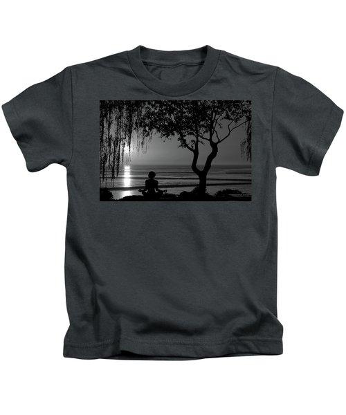 Meditative State Kids T-Shirt