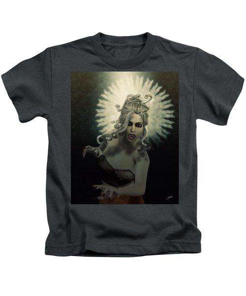 Medusa Kids T-Shirt by Joaquin Abella