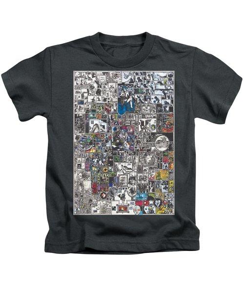 Medusa Maze Kids T-Shirt