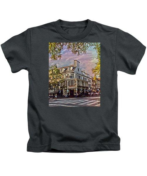 Meet Me At The Corner Kids T-Shirt