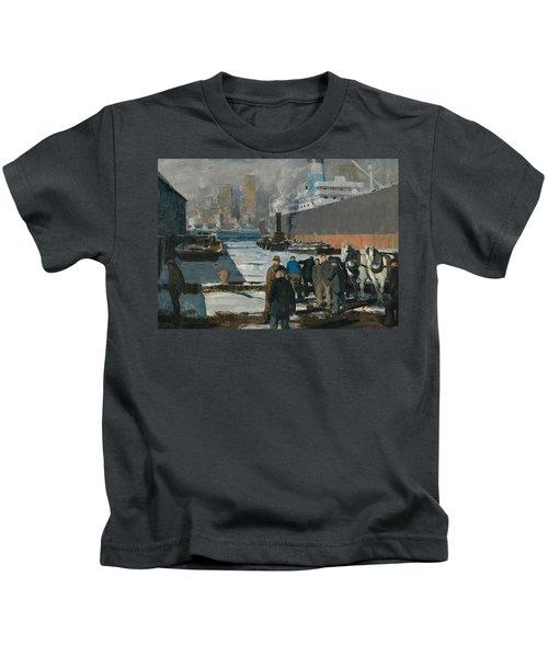 Men Of The Docks Kids T-Shirt